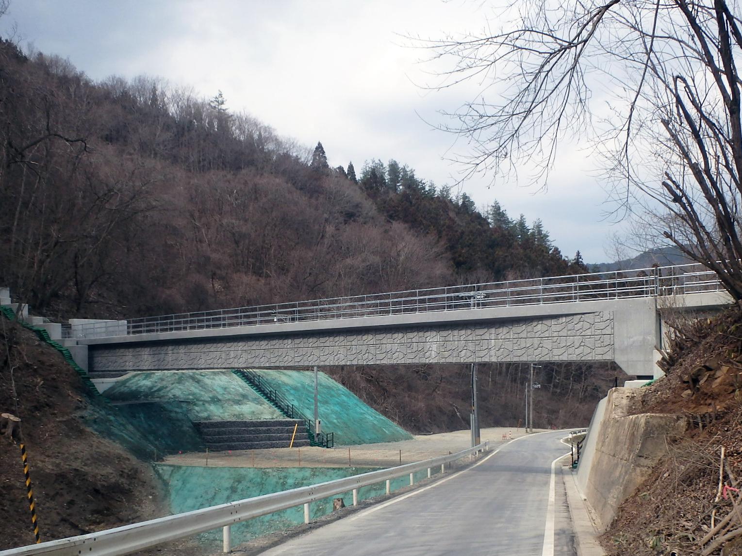 猿ヶ石農業水利事業取入水路橋